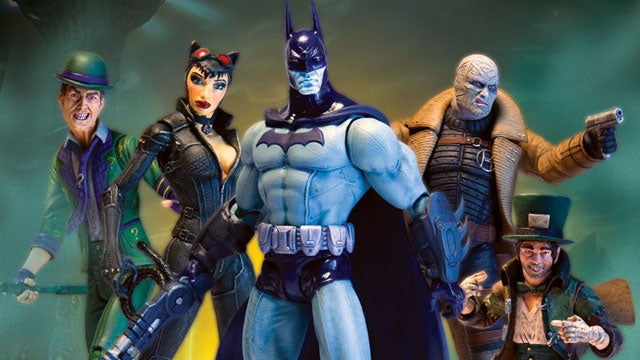 New Batman: Arkham City Figures Include Catwoman and The Riddler