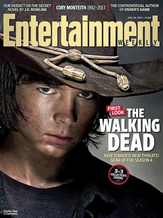 Carl from walking dead has grown up and he 39 s terrifying - Livre de poche walking dead ...