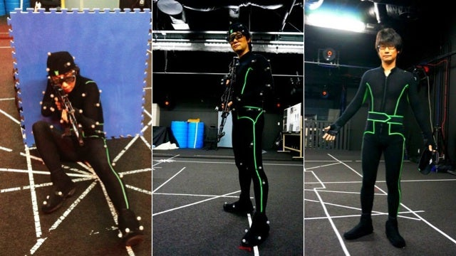 Hideo Kojima Suits Up for Motion Capture