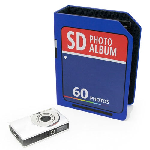 SD Card Album Holds The Equivalent Of 256MB Of Photos
