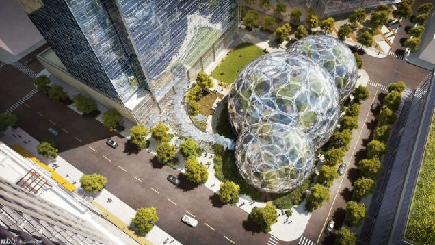 Amazon's Using the Heat From Its Data Centers To Warm Its New HQ