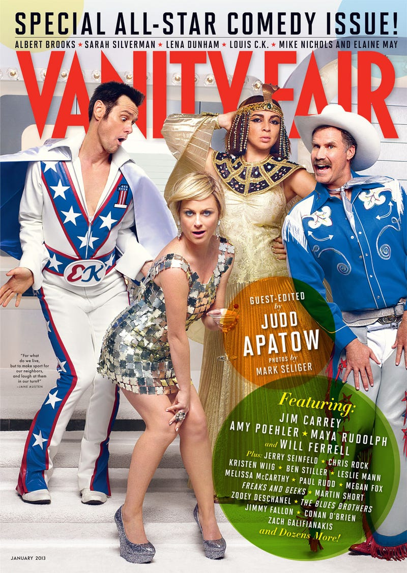 Vanity Fair's Comedy Issue Covers Have Equal Numbers of Men and Women