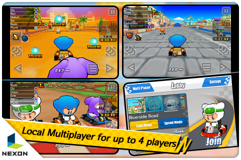 KartRider Rush Is a Fun, Free Mario Kart for your iPhone