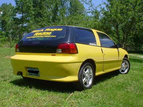 Cars that time forgot - Geo Storm GSi