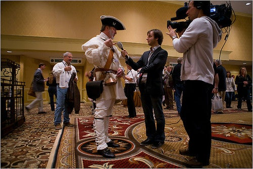 The Teabaggers Are Just College Protesters with More Tricorner Hats