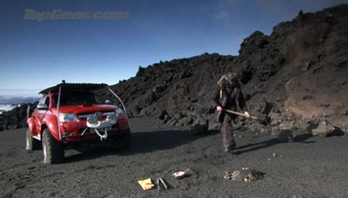 James May Cooks Dinner On A Volcano
