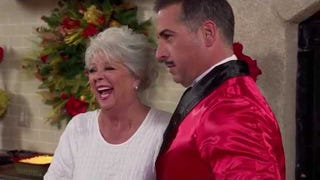 Paula Deen's Christmas Promo Looks Like a Total Shitshow