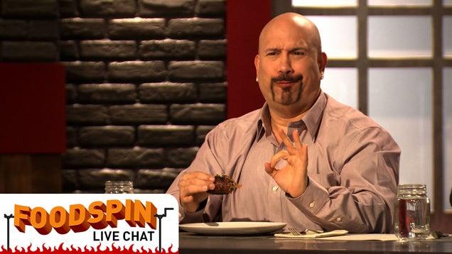 I'm Tony Luke Jr., Host Of SpikeTV's Frankenfood. Let's Chat.