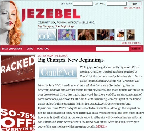 Whoring Out Jezebel