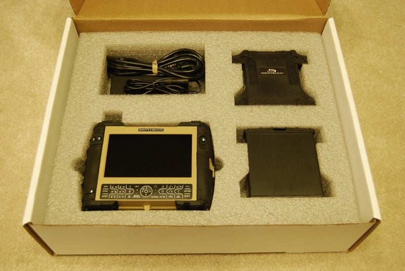 SwitchBack Rugged Ultra Mobile PC Unboxed