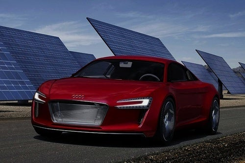 Audi R8 e-Tron Concept Is Not An Electric Lightcycle