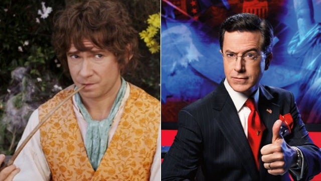 Next week is Hobbit Week on The Colbert Report