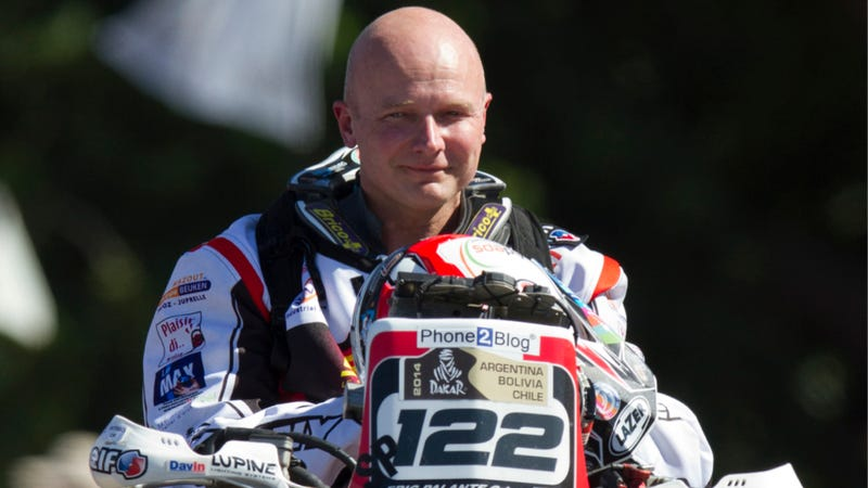 Motorcyclist Eric Palante Dies At Dakar Rally