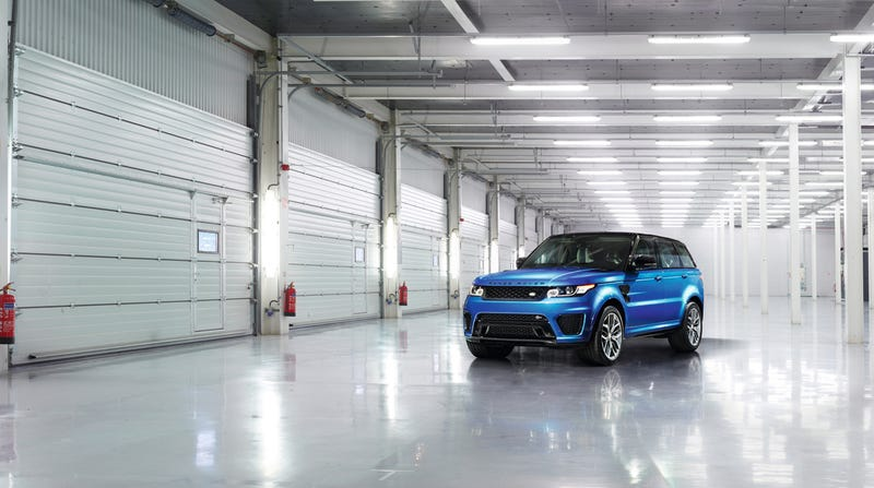 The Range Rover Sport SVR Is The Fastest Land Rover Ever