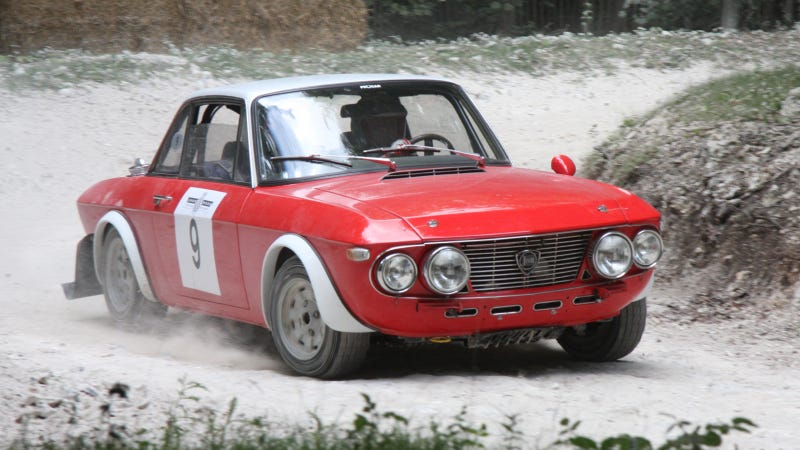 Your Ridiculously Awesome Rally Lancia Fulvia Wallpaper Is Here
