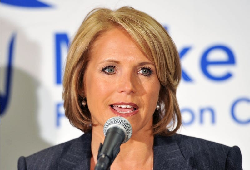 Katie Couric Finally Picks a Job, for Chrissake
