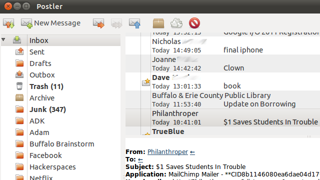 Postler Is a Far Less Complicated Mail Client for Linux