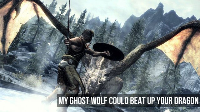 An Hour with Skyrim. It's Amazing.