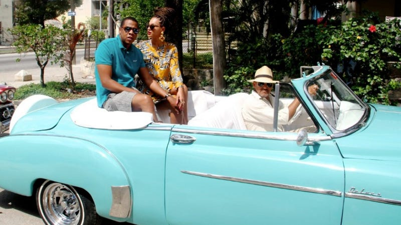 Oh Look, Bey and Jay Borrowed Don Draper's Car