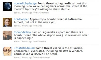 The Mainstream Media Sleeps In On (LaGuardia Airport Bomb Threat) Weekends