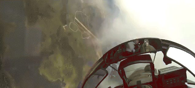 I Can't Stop Watching This Polish Fighter Jet GoPro Video