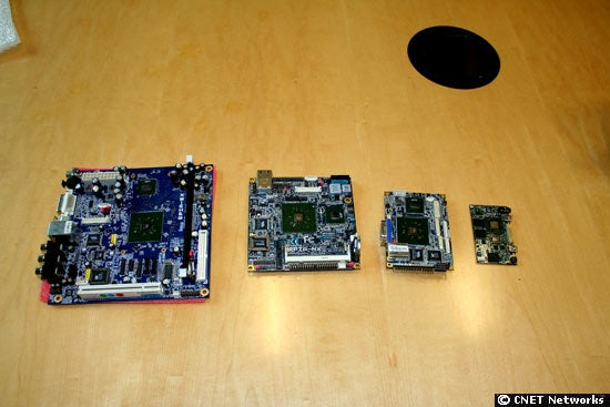 Tiny Wee Via Mobile ITX Motherboard to Power x86 Smartphones