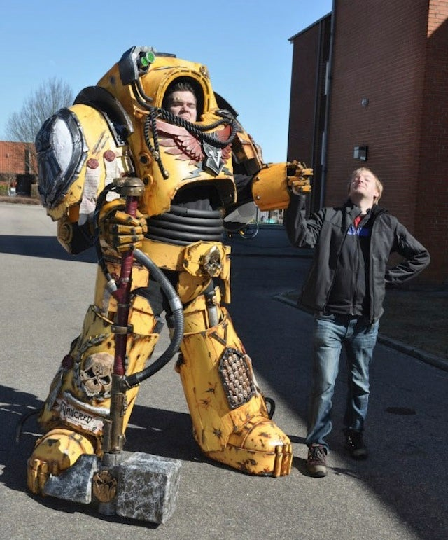 Now This Is Some Serious Warhammer 40K Cosplay