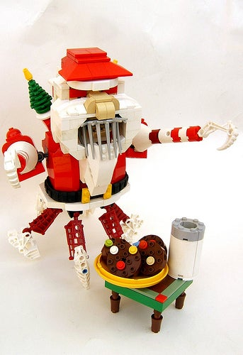 Lego Santa Crab Will Eat Your Cookies, Drink Your Milk, Kill You