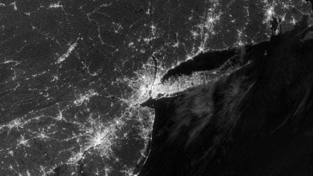 The Night the Lights Went Out: Before-and-After Sandy Images of the Tri-State Area