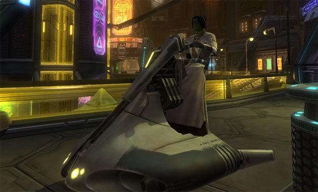 Star Wars: The Old Republic MMO Log Part Two: Some Sort of Jedi Mind Trick