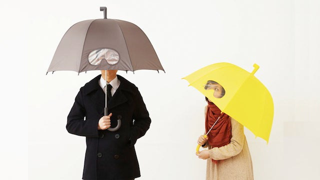 This Umbrella Gives You Goggles to Look Through It