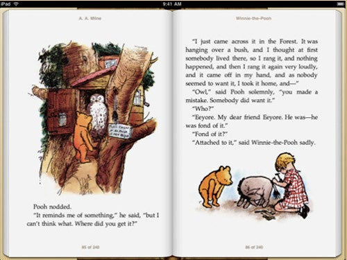 iBooks App Arrives for the iPad