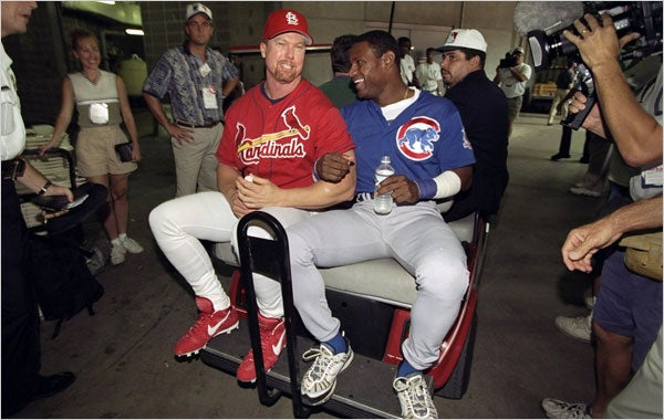Journalist Who Bravely Uncovered McGwire's (Perfectly Legal, Over-The-Counter) Drug Use Up For HOF Award