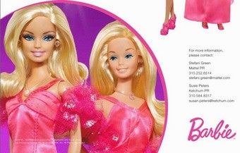 "Dollitics: For Barbie's Birthday, A ""New Look"" And A Racial Scandal"