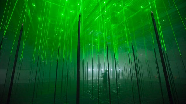 Laser Forest Will Make You Hallucinate Without Drugs