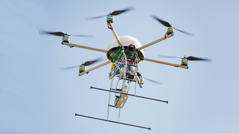 Journalism Students Are Learning To Operate Drones For...Journalism?