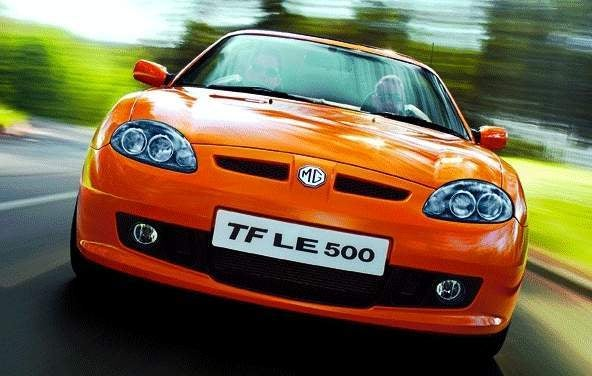 UK Longbridge Factory Resumes MG TF Production