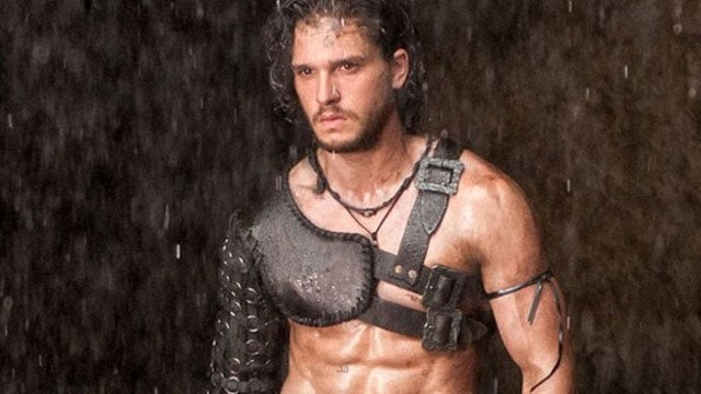 Jon Snow Knows Nothing About Lava or Shirts in the Pompeii Trailer