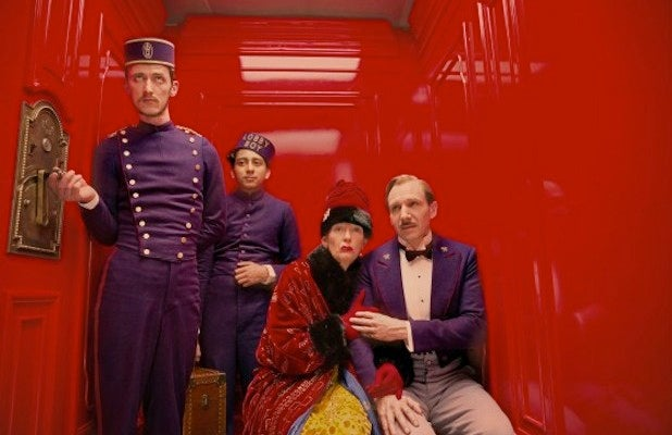 My four word review of Grand Budapest Hotel