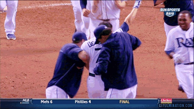 Rays Win In 18, Set Stage For Wide-Open Wild Card Finish