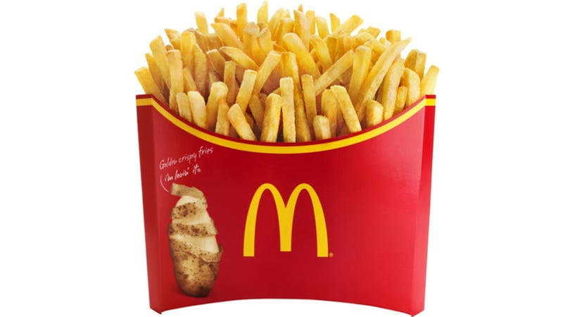 In Japan, McDonald's Just Super-Sized the Crap Outta French Fries