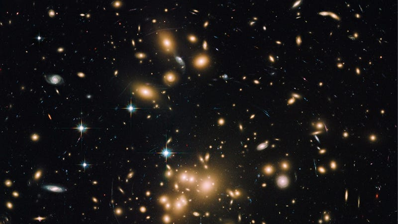 An incredible image of the biggest galaxy cluster we've ever seen