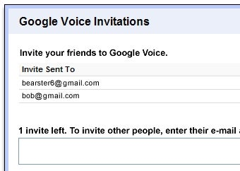 Google Voice Gives Users Invitations to Hand Out to Friends