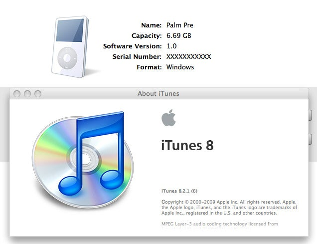 Palm Pre Fixes iTunes Sync!