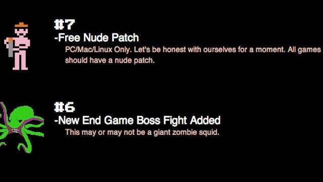 If You Vote For This Game On Steam Greenlight, The Developers Might Add Linux Support. More Votes? Nude Patch.