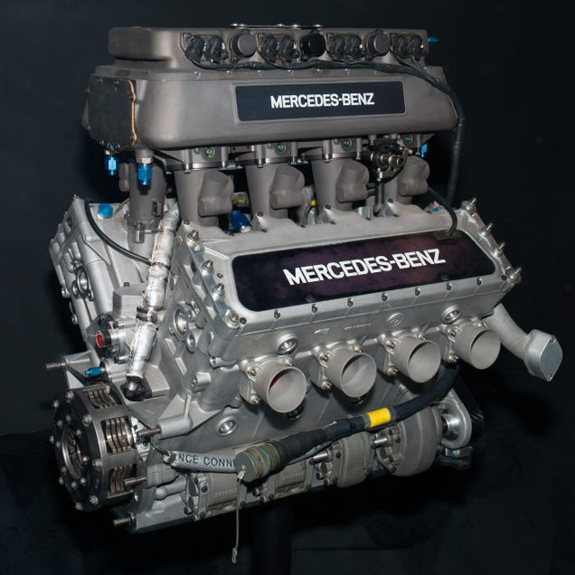 This innocent looking race car caged the last innovative for Mercedes benz engines