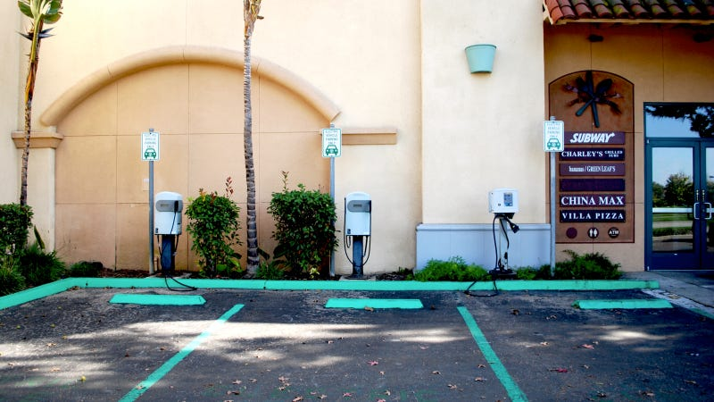 These Are The Lamest Electric Vehicle Chargers Around