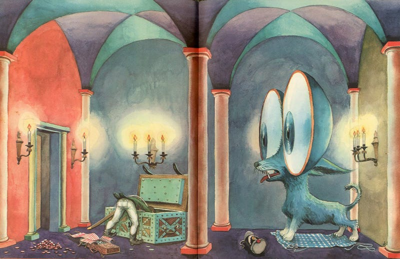 This insane children's book artwork will ruin bedtime forever