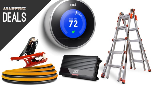 Deals: MTX Amplifier, Jumper Cables, Nest Learning Thermostat