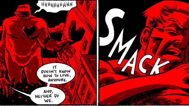 Erotic superhero insanity with Bored to Death's cartoonist Dean Haspiel